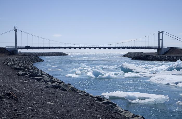 Jökulsárlón Bridge Iceland