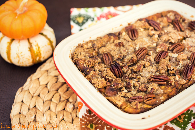 baked pumpkin french toast in_the_know_mom #cascadeshiningreviews