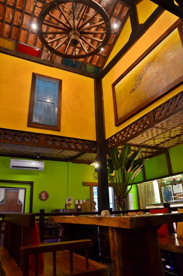Scenic Cafe Garden Interior