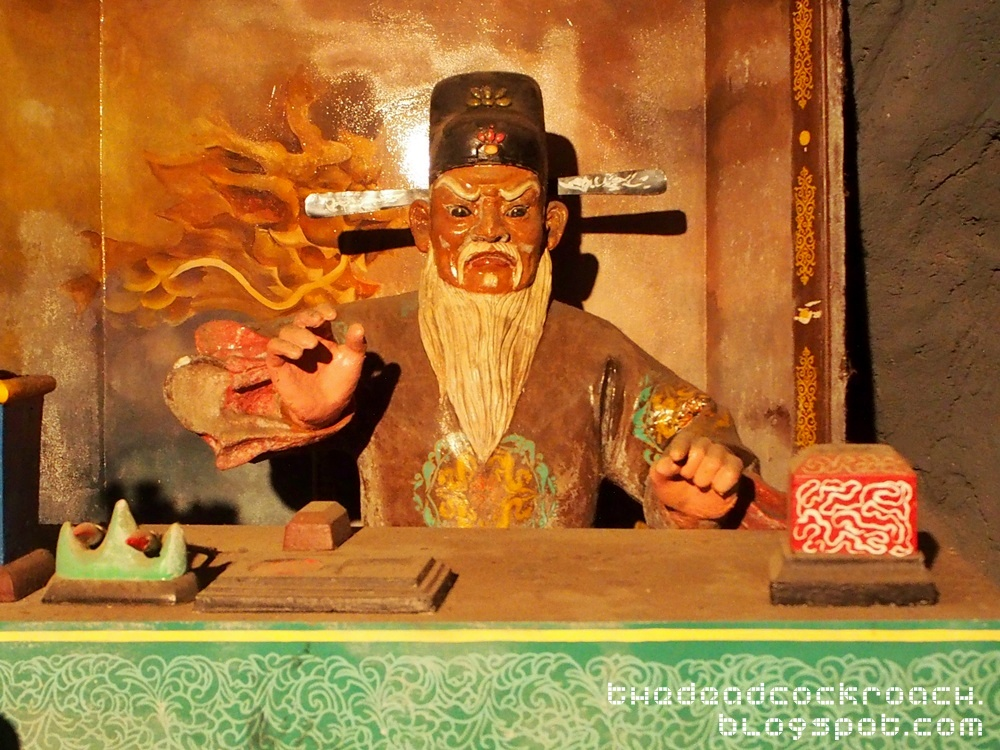 aw boon haw, aw boon par, chinese values, folklore, haw par villa, mythology, sculptures, statues, ten courts of hell, tiger balm, tiger balm garden, 虎豹别墅, singapore, where to go in singapore,fourth court of hell,yama,king wuguan
