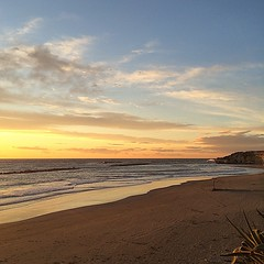 #visioni #tramonto #mare #spiaggia #cielo #nuvole #priorità