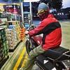 Lets gooo! @kingsevak can now ride.. #bikeing2014 #pplate #hondacustom125