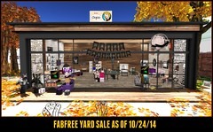 Visit The FabFree Yard Sale!