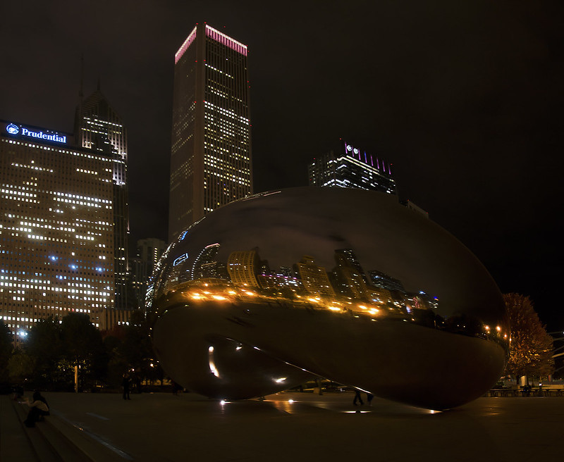 Evening at Cloud Gate