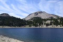 Lake Helen and Mount Lassen ... inside the crater of what was Mount Tehama