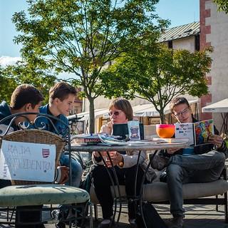 Book club - Banská Bystrica - © M. Dubovský, Občianska Cykloiniciatíva