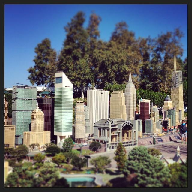 The New York skyline...in Legos. So awesome. #taralovesadventure