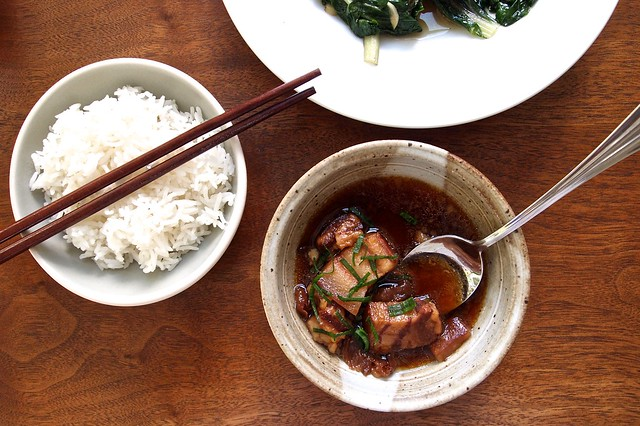 Red-braised pork