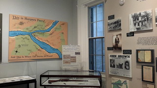 Inside the Harpers Ferry Visitor Center