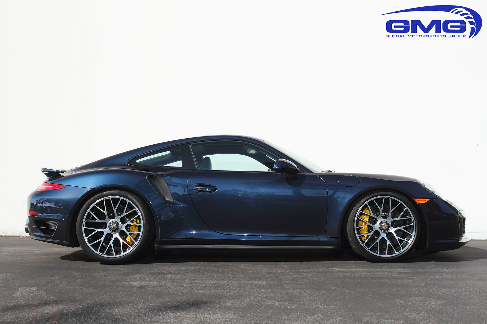 Porsche 991 Turbo S Dark Blue Metallic W Gmg Lowering Springs Exhaust Headers Giac Rennlist