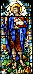 Saints and their Symbols in Stained Glass
