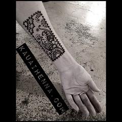 #Kauai #henna #tattoo #bodyart #kauaihenna #mehndi #art by #Catana #Hawaii #freehand #drawing #kapaa