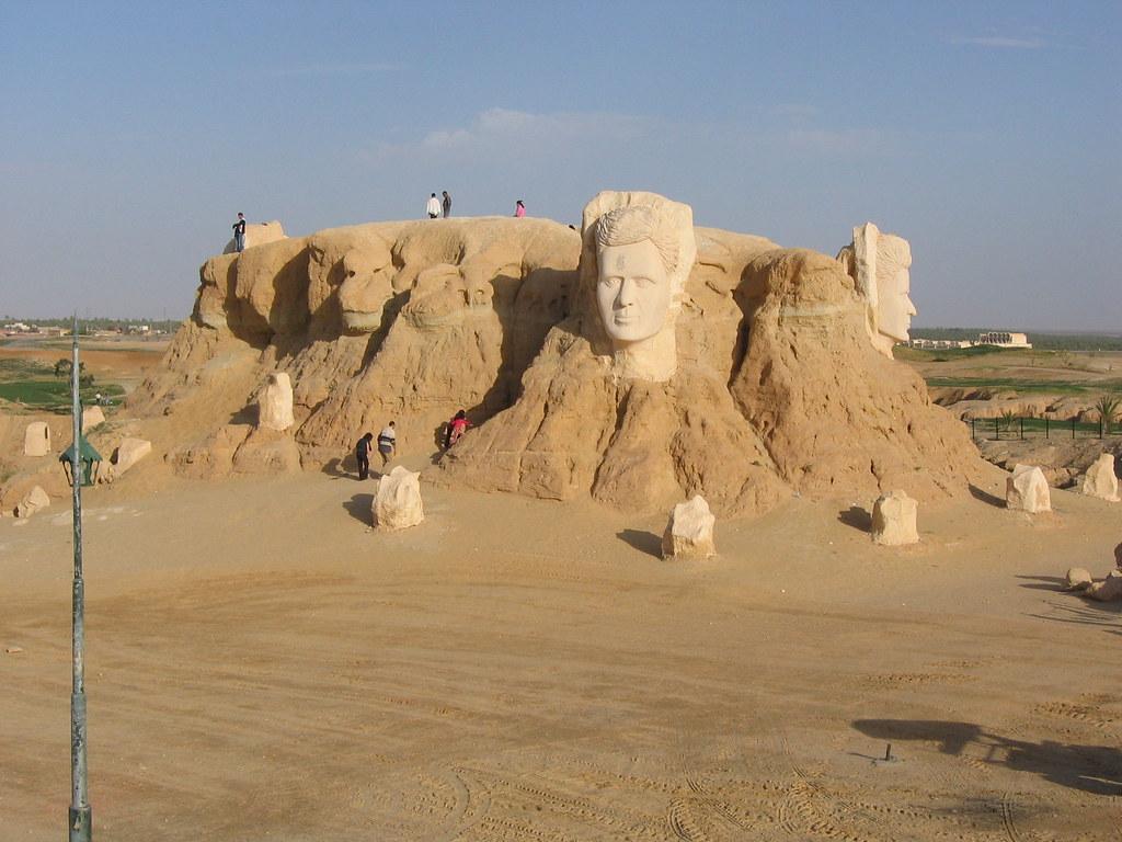 Belevedere Rocks, Tozeur, Tunisia