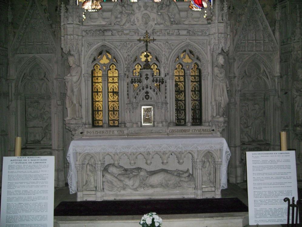 Sfintele Moaste ale Sfantului Ierarh Martial