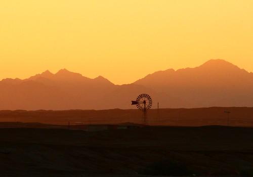 sunset sonnenuntergang desert egypt wüste wernerboehm