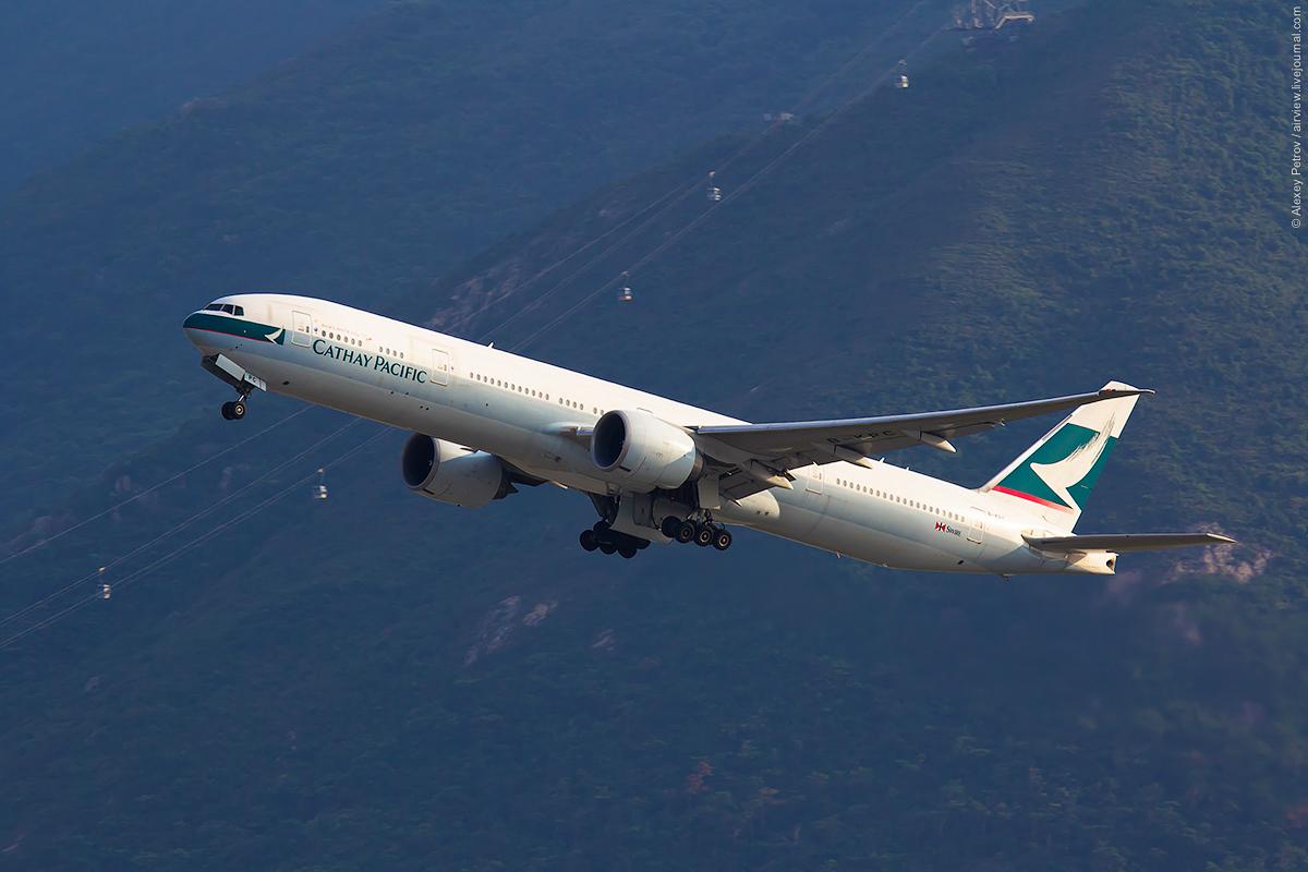 Белые крылья Cathay Pacific