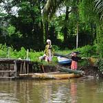 鄉間婦女@找長鼻猴的河上