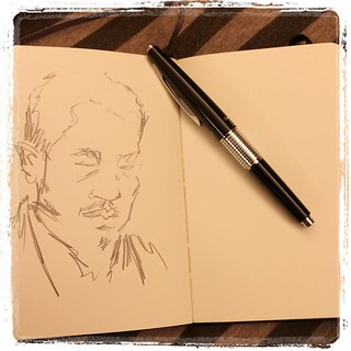 #japon #tokyo #portraits #urbansketch #pentel #kerry #moleskine