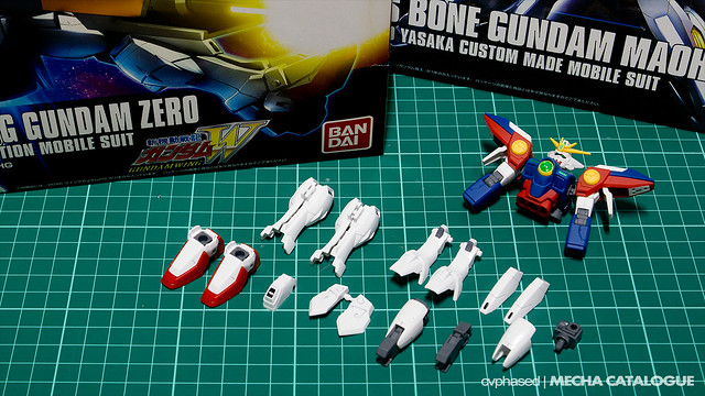 HGAC Wing Gundam Zero - Work in Progress #2