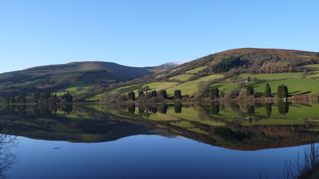 Reservoir in the Brecon Beacons