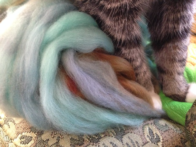 Kneading / Felting