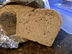 Tender Whole Wheat Bread