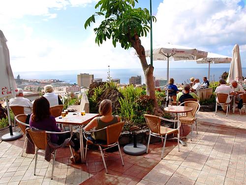 Alberto's cafe, Puerto de la Cruz