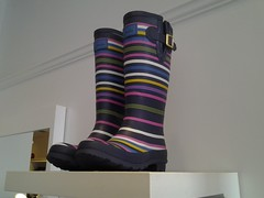 Colourful fall rain boots from JJ & Co