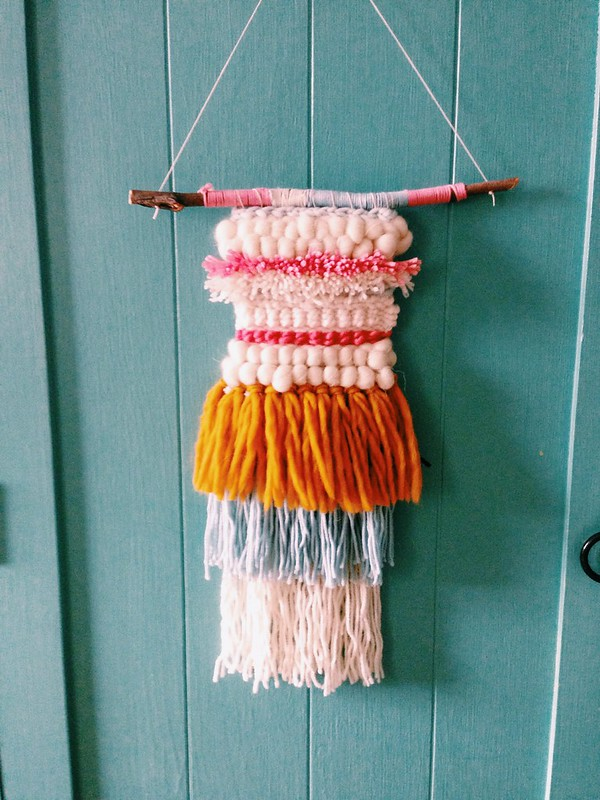 New Woven wall hanging for my friend Sewon