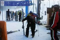 Testování lyží Sporten na Stupavě