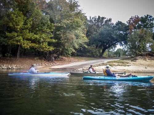 Savannah River from Stokes Bluff with LCU Nov 7, 2014, 4-18 PM Nov 8, 2014, 9-023