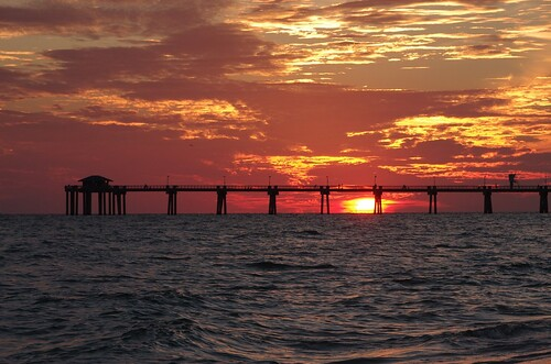 sunset destin okaloosaisland okaloosa okaloosapier okaloosacountypier