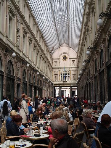 ギャラリー・サンチュベール Galeries Royales Saint-Hubert