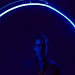 Alex in Blue - Kinetica Art Fair by Ania Mendrek