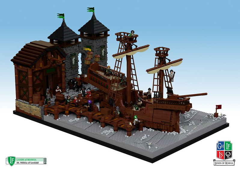 LoR Lenfald LC XVI - Stonewald Docks