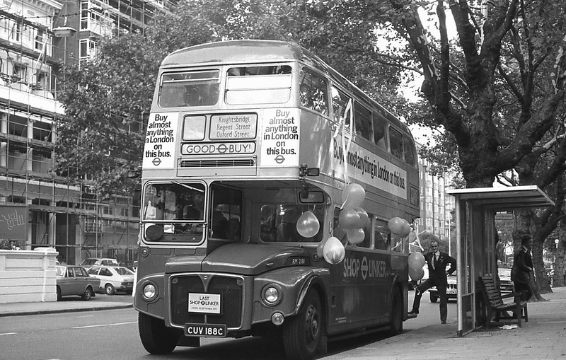 London Transport CUV188C September 1979