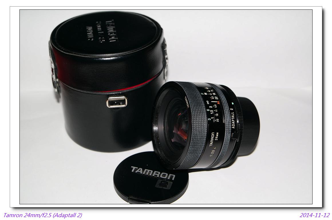 Tamron 24mm/f2.5 (adaptall2) ~