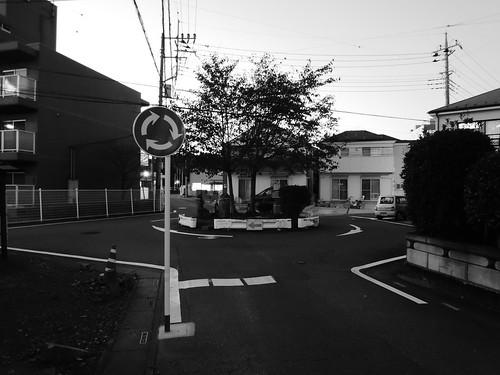 ラウンドアバウト 交差点 埼玉県入間市 ぐるぐる交差点