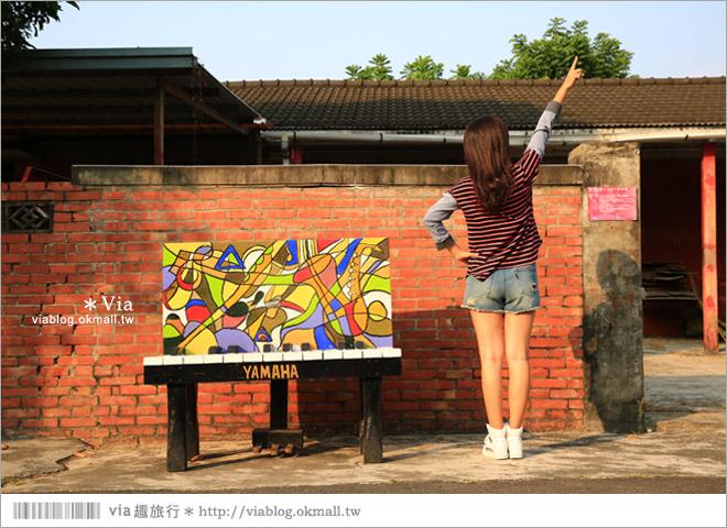 【台中霧峰景點】台中光復新村~可愛的造型椅林立、讓老眷村重新充滿新活力!40
