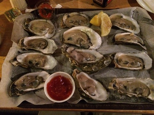 Chincoteague Oysters: Before