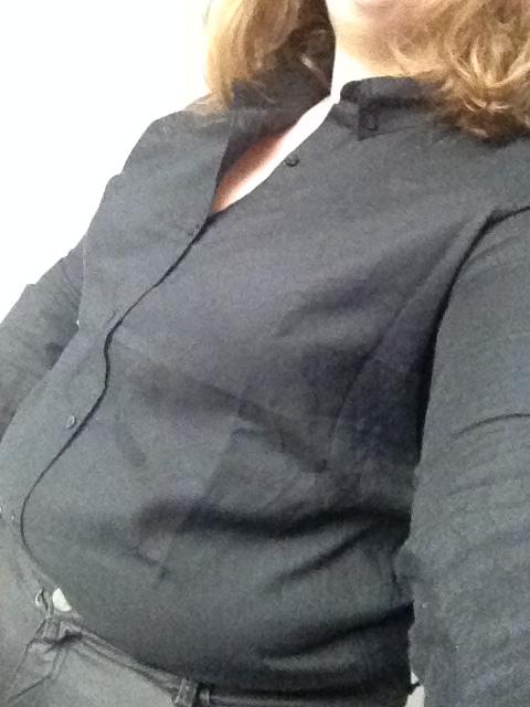 1 GAP zwarte bloes