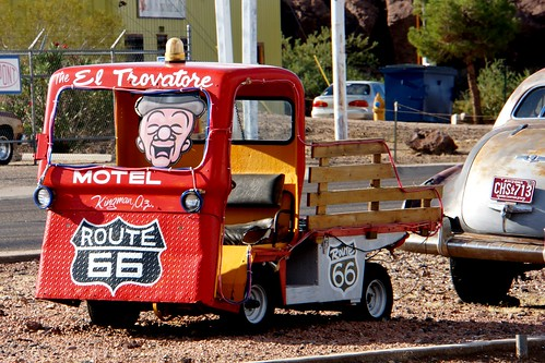 El Trovatore Morel, Route 66, Kingman, Arizona