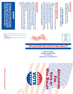 Kitchen Table Kibitzing 10/30/2014: Voting by Mail in NJ - Take 2!