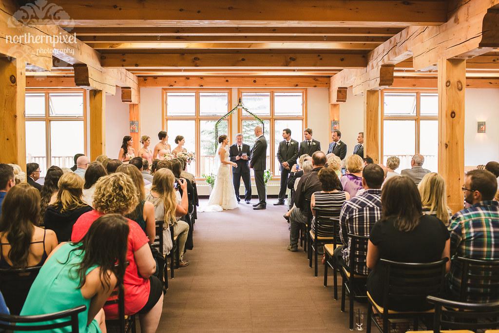 Mount Norquay Wedding Ceremony