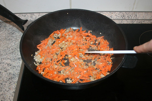 27 - Möhren mit andünsten / Braise carrots