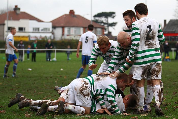 Gareth Craven Goal Celebration