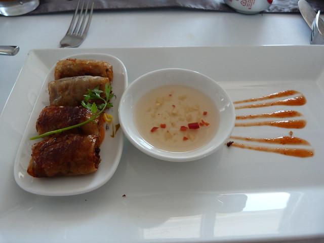 Rollitos vietnamitas