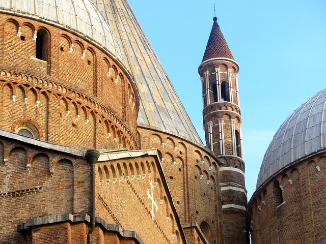 Rooftops of Saint Anthony's Basilica in Padua