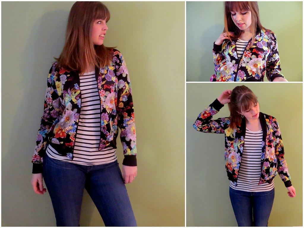 http://thequirkypeach.blogspot.com/2014/01/floral-bomber-jacket.html