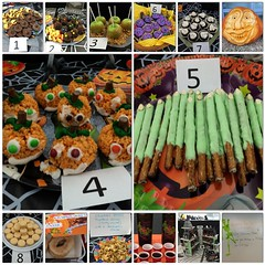 So impressed and sugar-highed by our HR dept's #halloween treat bakeoff! The pumpkin rice-krispy treats won for presentation, the witch-finger pretzels won for creativity, and the pumpkin-spice macarons won for taste! #yum #siliconvalley